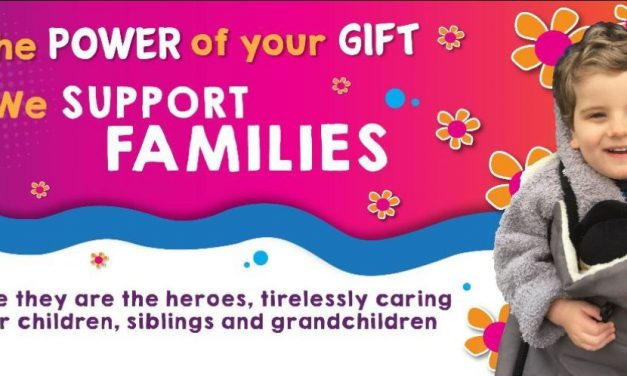 The Power of Your Gift – Family Support