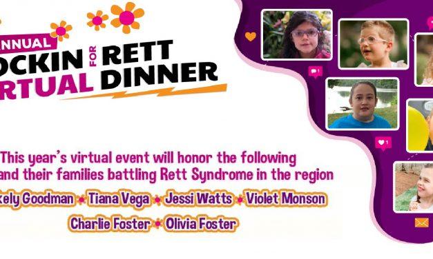3rd Annual Rockin' for Rett Huntsville Virtual Event
