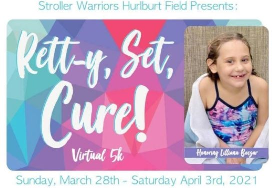 Retty, Set, Cure! Virtual 5K